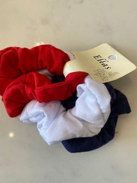 3-Pack of Assorted Colored Hair Scrunchies Beyond the Barre hair accessorie