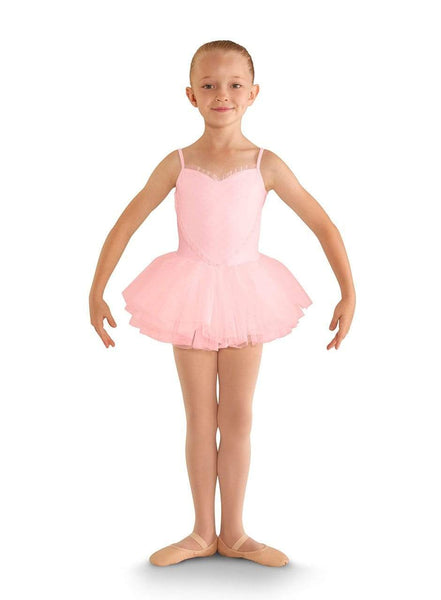 Bloch Heart Mesh Tutu Leotard