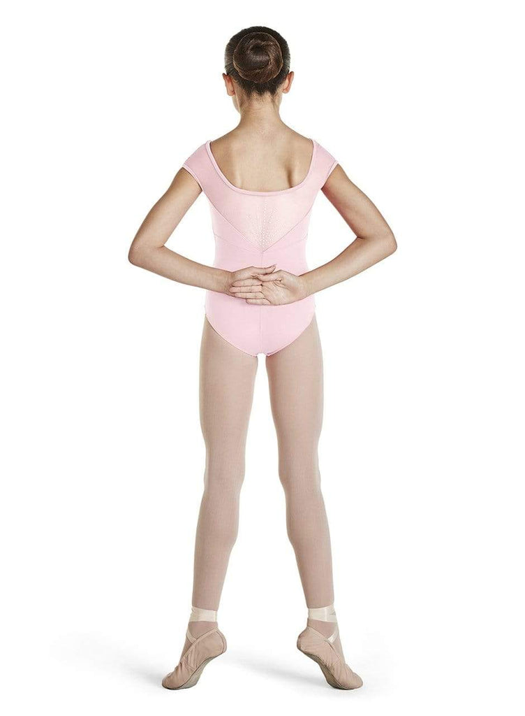 Bloch Mesh Back Cap Sleeve Leotard BLOCH LEOTARDS