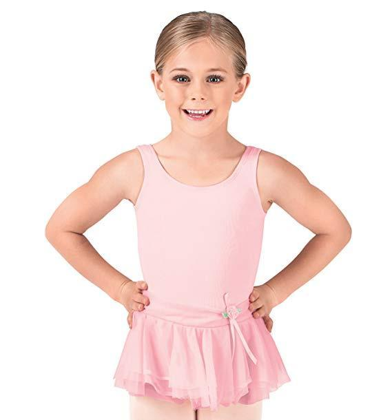 BW Tank Leotard Dress w/ Bow bodywrappers Dress