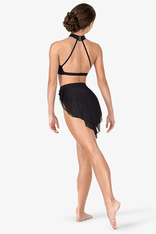 Back Drape Mesh Skirt Bodywrappers skirt