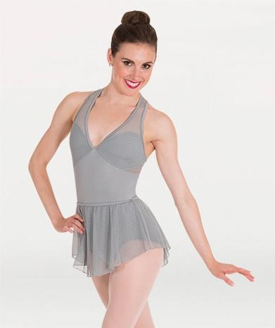 Body Wrappers Tiler Peck Pointelle Mesh Skirt bodywrappers skirt