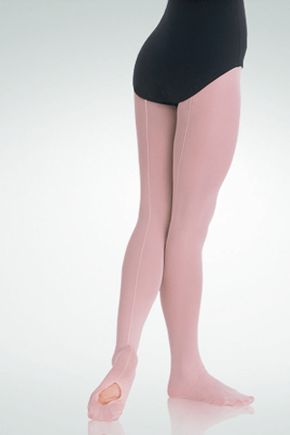 BODY WRAPPERS BACKSEAM CONVERTIBLE MESH TIGHTS-CHILDREN'S