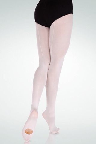 BODY WRAPPERS MICROFIBER BACK SEAM TIGHTS-CHILDREN'S bodywrappers tights