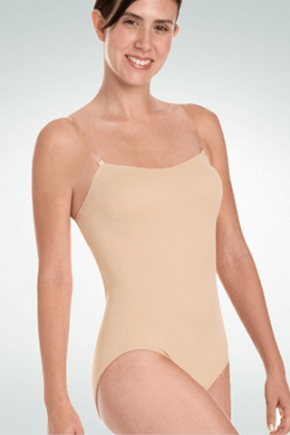 Body Wrappers Adult Padded Bust Versatile Halter/Tank Leotard Bodywrappers Undergarments