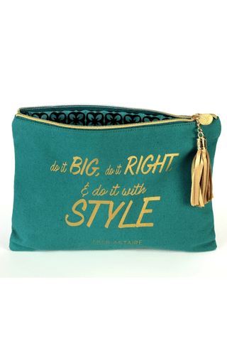 Do it Big Do it Right-Canvas Bag BPLUSPRINTWORKS COSMETIC CASE