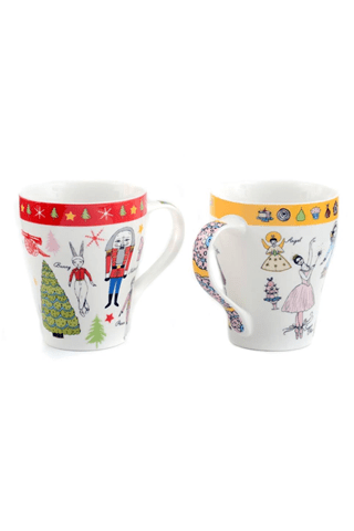 NUTCRACKER MUG SET BPLUSPRINTWORKS MUGS