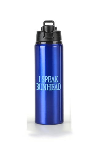 I SPEAK BUNHEAD-WATER BOTTLE