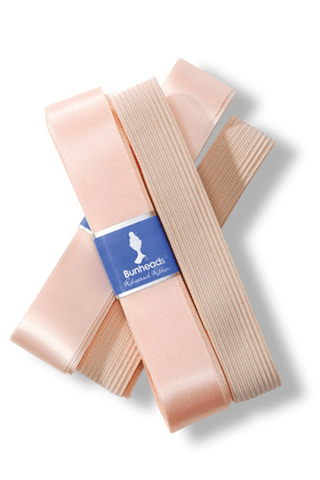 REHEARSAL RIBBON & ELASTIC KIT Bunheads pointe shoe ribbon