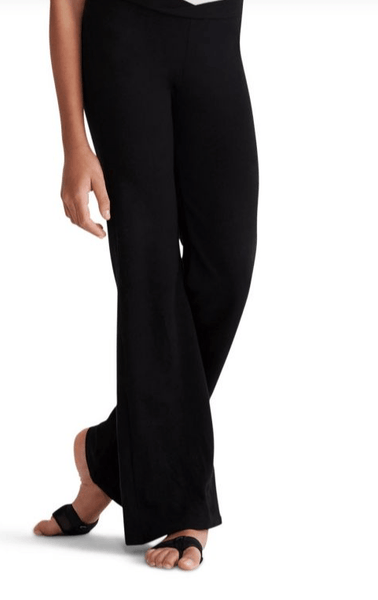 Capezio V-Waist Jazz Pant-Youth