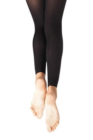 Capezio Youth Footless Tights