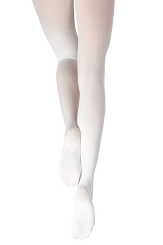 Capezio Youth Studio Basics Footed Tights