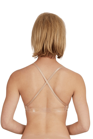 Capezio Adult Seamless Clear Back Bra Capezio Undergarments