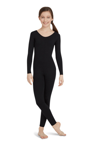 Capezio Long Sleeve Unitard-Children's Capezio unitard