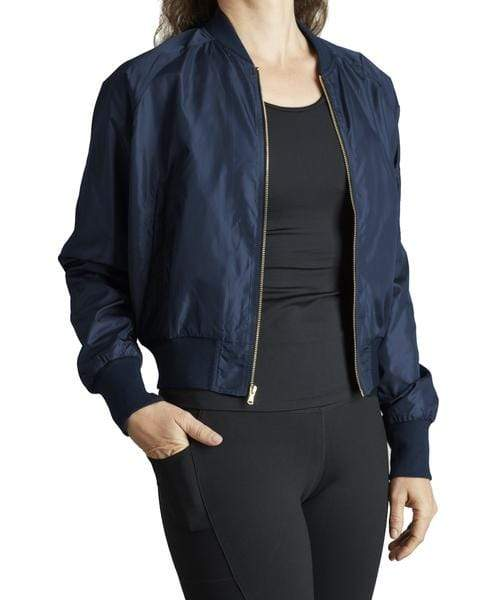 Covalent Activewear Womens Bomber Jacket cov jacket
