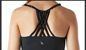 Covalent Activewear Youth Argyle Bra Top