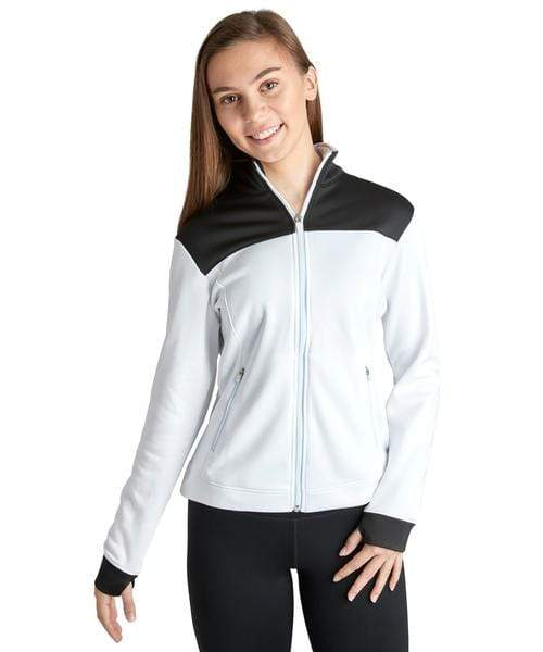 Covalent Activewear Ladies Varsity Jacket Covalent Active Wear jacket
