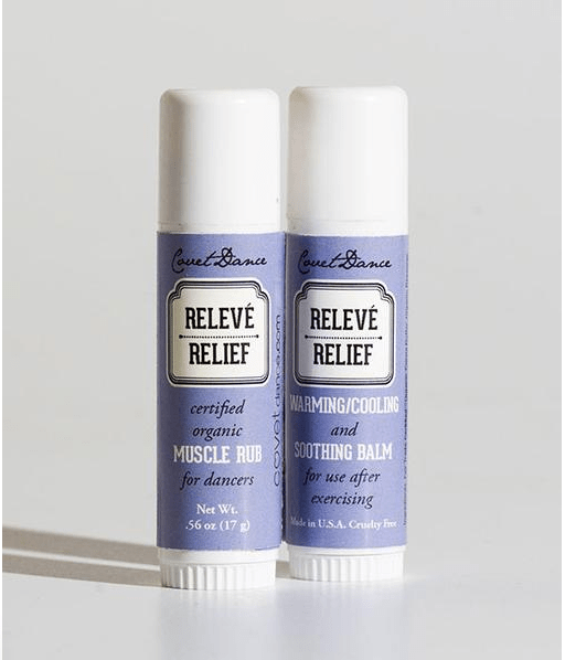 Releve Relief Muscle Balm covet dance accessories