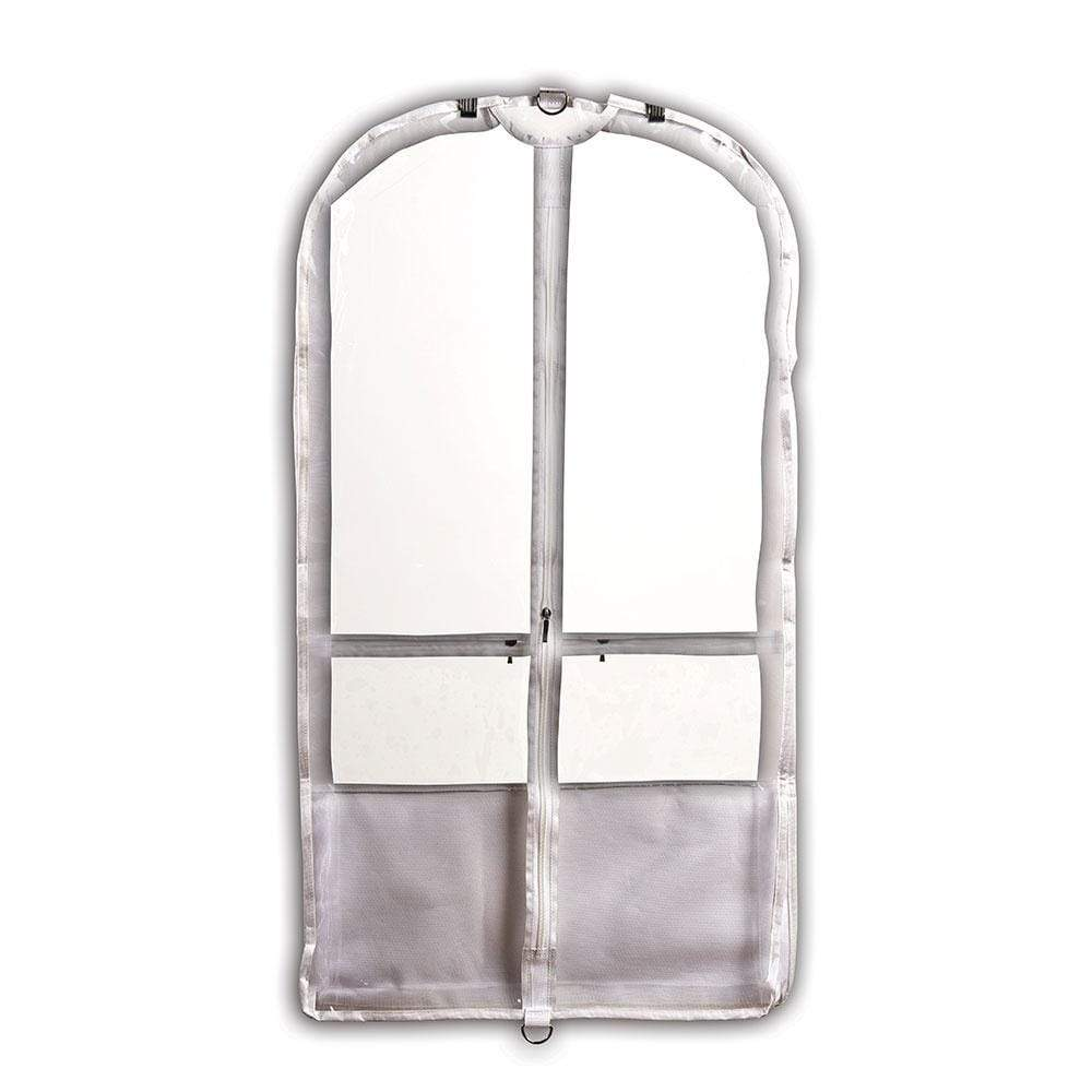 Danshuz B598 White Garment Bag Danshuz garment bag