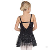 Eurotard Girls Sequined Skirt Camisole Dance Dress