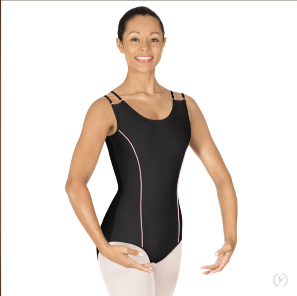 Eurotard Womens Double Strap Leotard