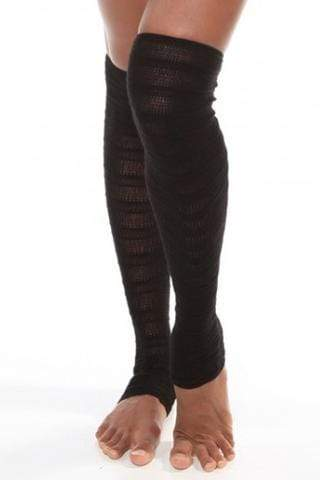 KD DANCE SHADOW STRIPE LEGWARMER
