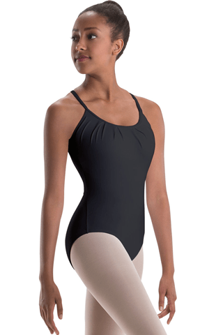 Motionwear Pleated Front Camisole Leotard MOTIONWEAR LEOTARDS
