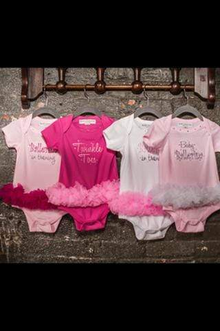 Infant Todder Tutu Onesie On 1 Dancewear