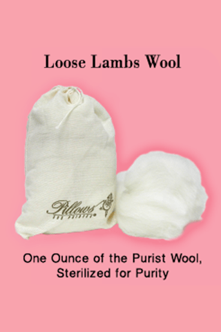 LAMBS WOOL-PILLOWS FOR POINTES