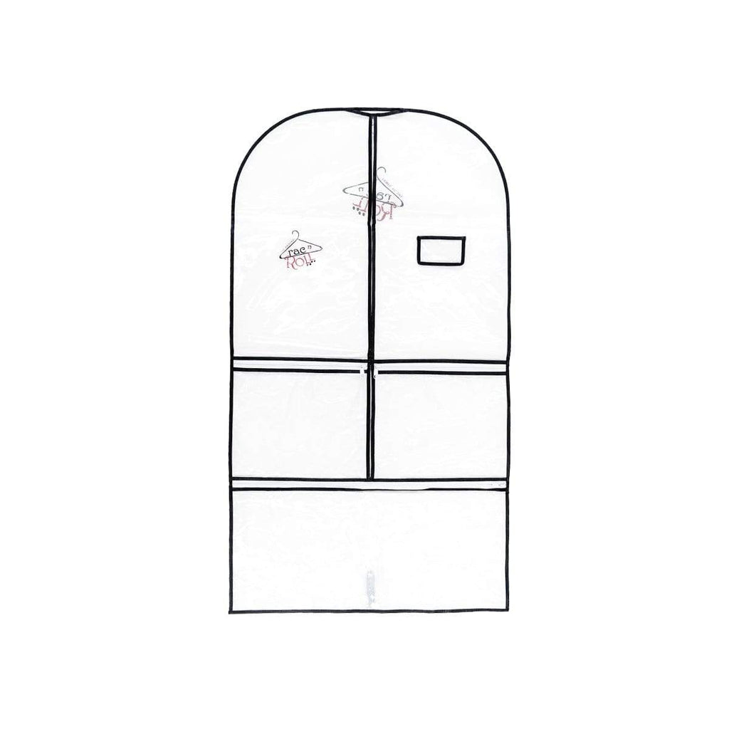 Garment Bag - Half Clear - Half Non-Woven - Long RAC N' ROLL garment bag