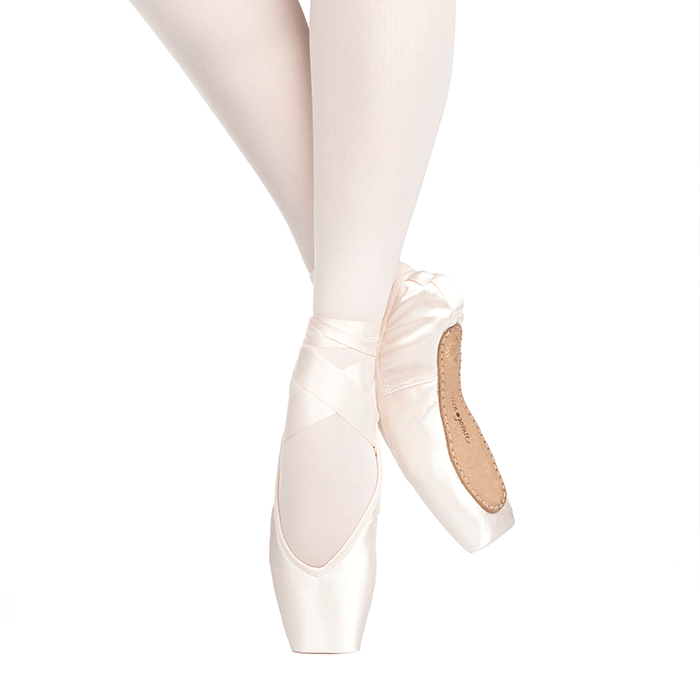 "Russian Pointe ""Rubin"" V-Cut Pointe Shoe Russian pointe pointe shoes"