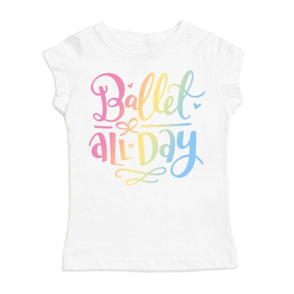 SWEET WINK BALLET ALL DAY S/S SHIRT - WHITE