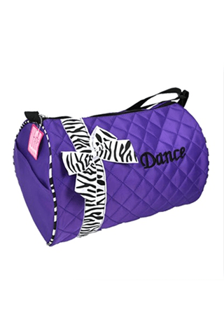 NEON DANCE DUFFEL-PURPLE TYVM DANCE BAGS