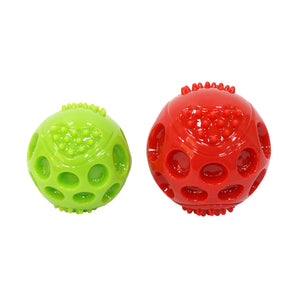 Squeaking Bouncing Ball Durable Floatable Springy Pet Toys