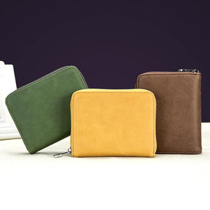 Men's and Women's Fashion Solid Color Card Holder