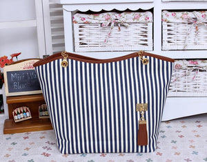 Stripe Pattern Elegant Stylish Dating Handbag