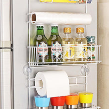 Load image into Gallery viewer, Multifunctional Multi-layer Kitchen Organizer Refrigerator Rack Side Shelf Sidewall Holder