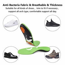 Load image into Gallery viewer, Professional High Arch Support Orthopedic Shoes Insert Sports Gel Sole Fasciitis