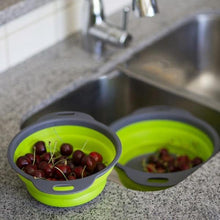 Load image into Gallery viewer, Kitchen Collapsible Colander Washing Drain