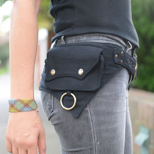 Women's Sport Travel Hip Pouch Shoulder Chest Fanny Pack Waist Bag