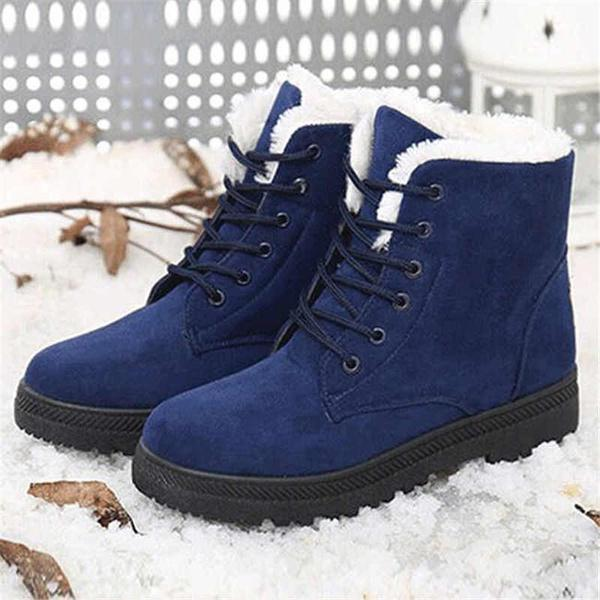 Women's Classic Snow Fashion Winter Short Boots