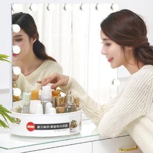 Cosmetics Bath Pieces Rotating Frame