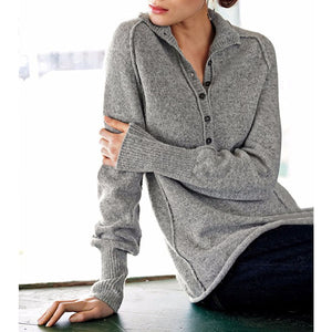 Autumn Winter Long-sleeved Turtleneck Women's Sweater