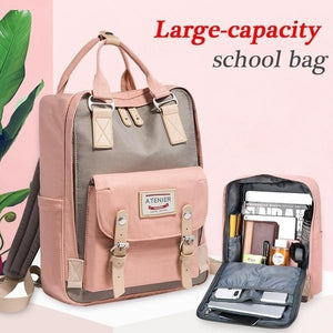 Student's  Large-Capacity Student Backpack Comp backpack