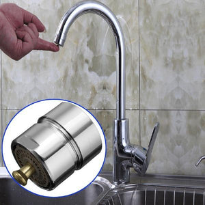 Water Saving One-Touch Control Faucet Aerator
