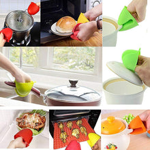 Load image into Gallery viewer, Thickened Silicone Heat Resistance Gloves Clamp Home Kitchen Gadgets