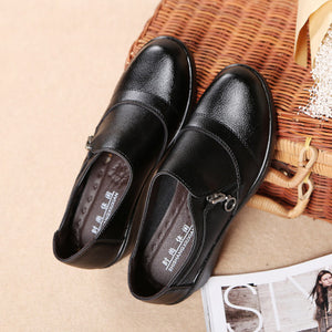Women Comfortable Wedge Slip-on Casual Shoes