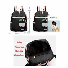 Load image into Gallery viewer, Women Purse Nylon Anti-theft Lightweight Travel School Backpack