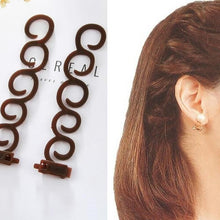 Load image into Gallery viewer, Resin Hair Clips For Women Girls Diy Hairstyle Elegance Tool