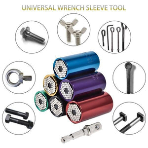 Universal Torque Wrench Head Set